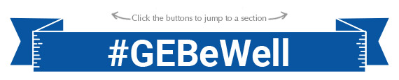 GE Be Well banner