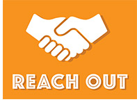 Reach Out graphic and link