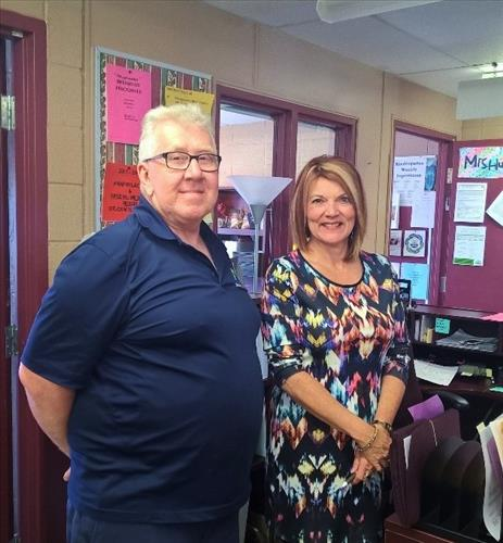 Support staff at Hagersville Elementary School