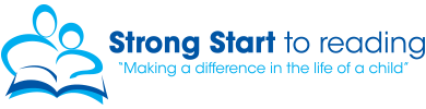 A graphic image promotes the Strong Start literacy program