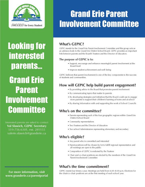 Recruitment Flyer for GEPIC